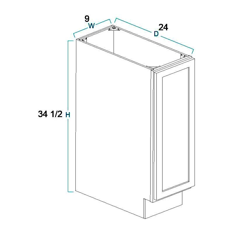 Full Height Door Base Cabinets-1 Door
