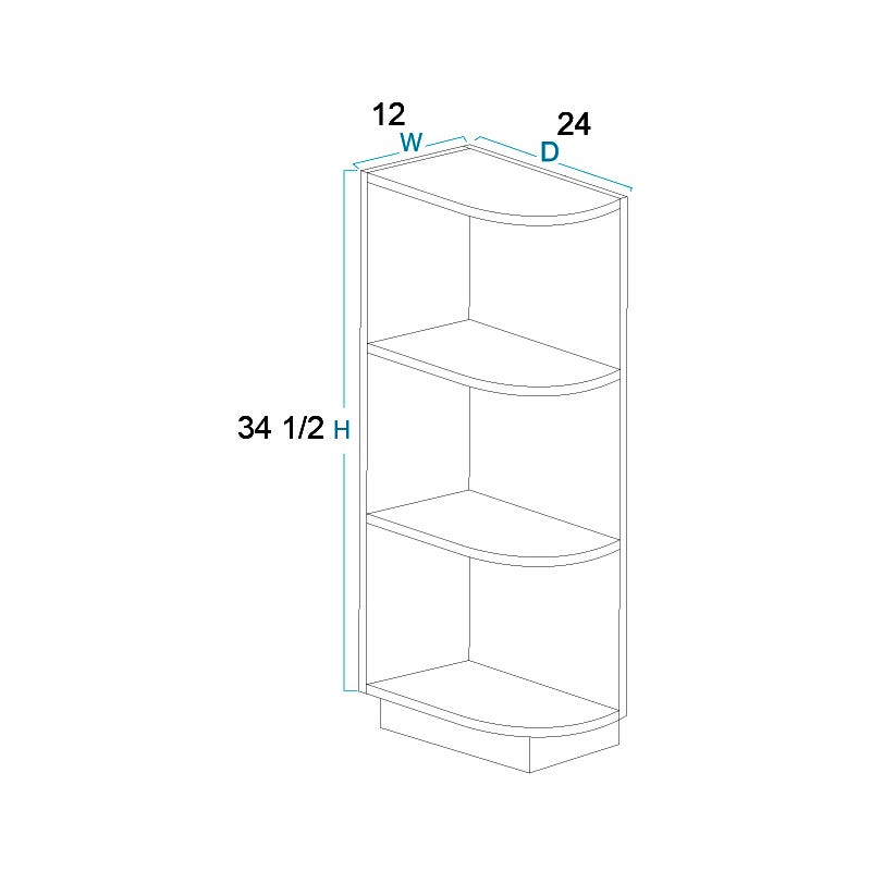 Base End Shelf