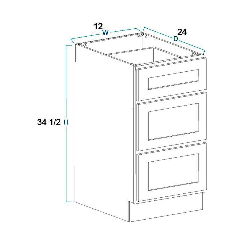 Summit Shaker White Framed Rta Cabinets Shop Cabinets