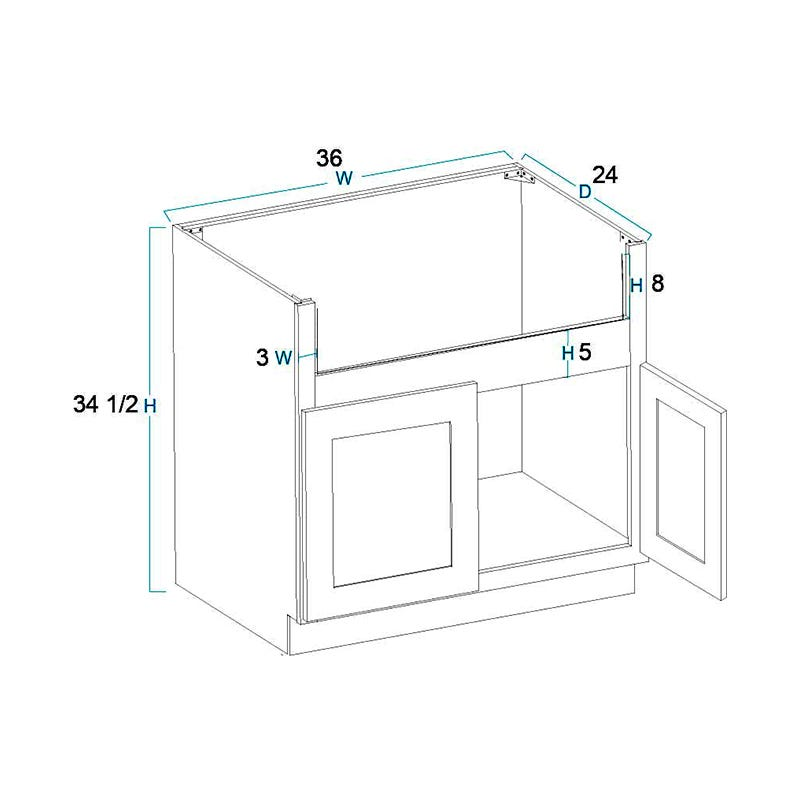 Farm Sink Base Cabinets